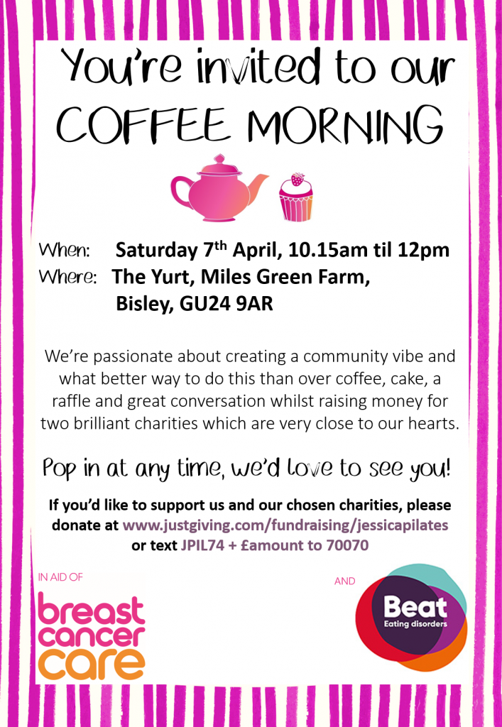 Coffee Morning Poster For Website Jessica Pilates